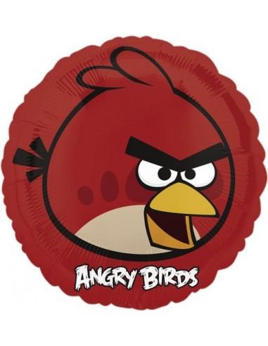 Globos Foil Angry Birds Red Bird - Redondo 45cm - A-2577001