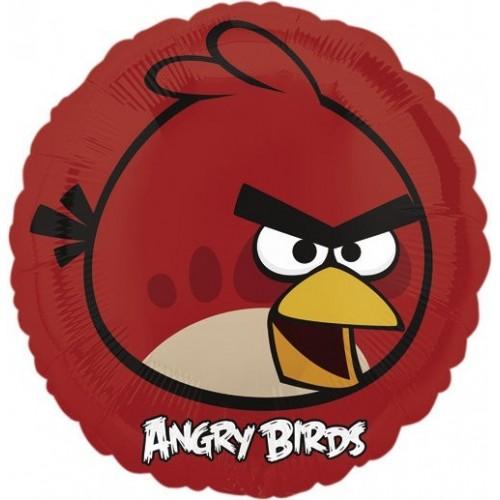 Globo Angry Birds Red Bird - Redondo 45cm Foil Poliamida - A2577001
