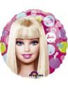 Globos Foil Barbie Pattern - Redondo 45cm - A-11838001