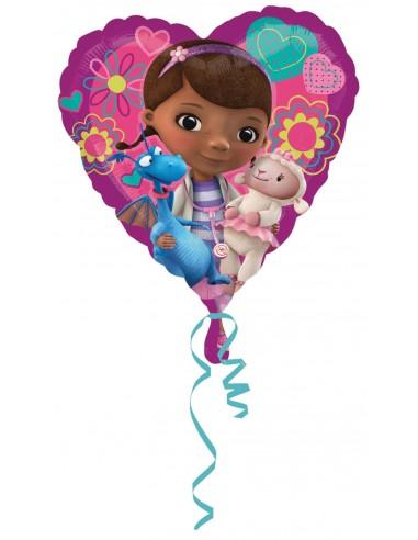 Globos Foil Doctora Juguetes Love - Corazon 45cm - A-2983901