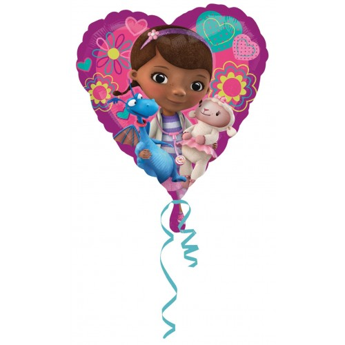 Globo Doctora Juguetes Love - Corazon 45cm Foil Poliamida - A2983901
