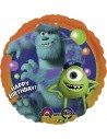 Globos Foil Monsters University Birthday - Redondo 45cm - A-2619901