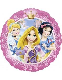 Globos Foil Princesas Disney Retrato - Redondo 45cm - A-2635301