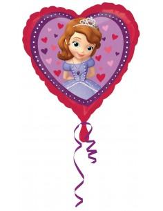 Globos Foil La Princesa Sofia Love - Corazon 45cm - A-2984001