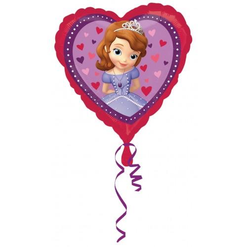 Globo La Princesa Sofia Love - Corazon 45cm Foil Poliamida - A2984001