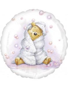 Globos Foil Winnie the Pooh Baby Girl - Redondo 45cm - A-2634863