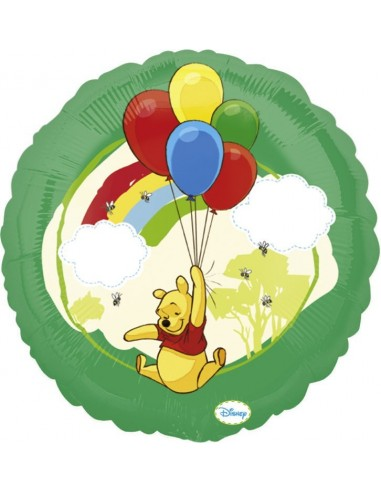 Globos Foil Winnie the Pooh Globos - Redondo 45cm - A-2416801