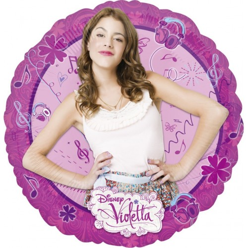 Globo Violetta - Redondo 45cm Foil Poliamida - A2804101