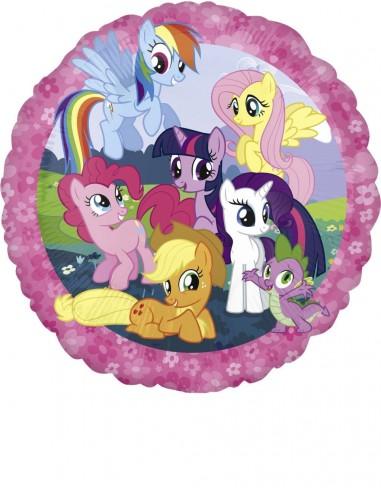 Globos Foil Mi Pequeño Pony - Redondo 45cm - A-2642101