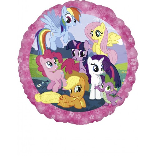 Globo Mi Pequeño Pony - Redondo 45cm Foil Poliamida - A2642101
