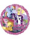 Globos Foil Mi Pequeño Pony Happy Birthday - Redondo 45cm - A-2708001