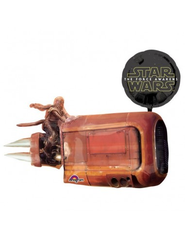 Globo Star Wars Rey's Speeder - Forma 73x88cm Foil Poliamida -A3162201
