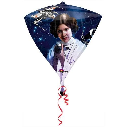 Globo Star Wars - Diamante 3D 43cm Foil Poliamida - A3039801
