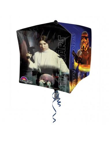 Globos Star Wars - Foil CUBEZ 38cm- A3039701