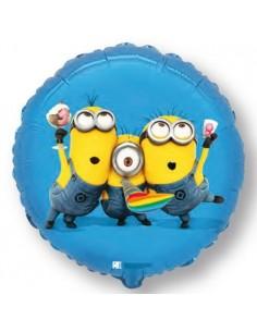 Globo Minions Party - Redondo 45cm Foil Poliamida - F401573