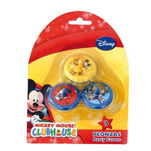 Peonzas Mickey Mouse - 3 UDS