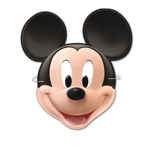 Caretas Mickey Mouse de 6 UDS
