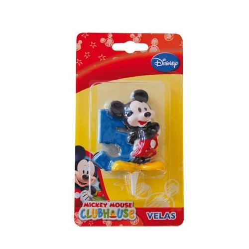 Vela Mickey Mouse Numero 5