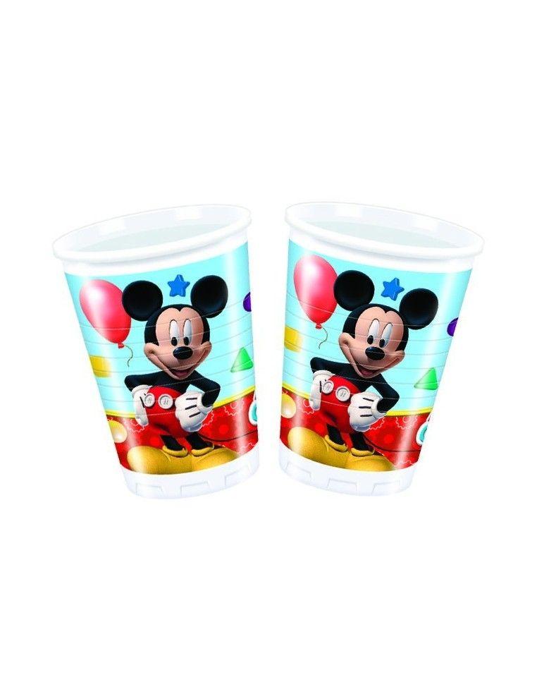 Vasos Mickey Mouse Club House de 200ml