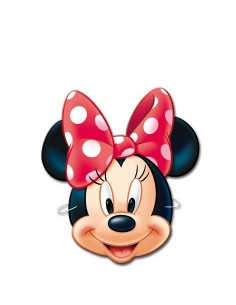 Caretas Minnie Mouse