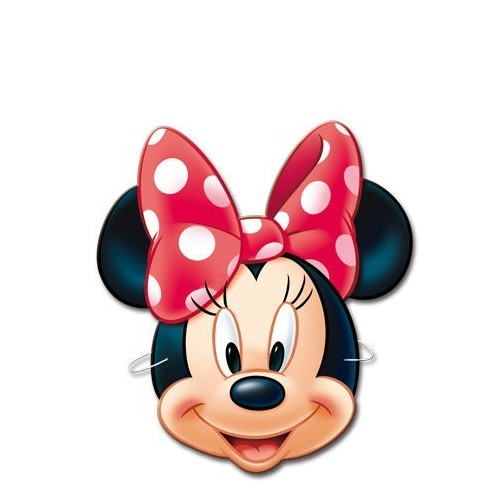 Caretas Minnie Mouse - 6 UDS