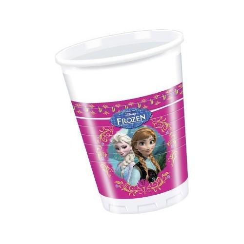 Vasos Frozen Alpine de 200ml - 8 UDS