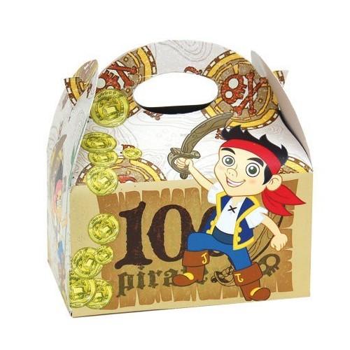 Cajita Jake y Los Piratas de 16x16x11cm