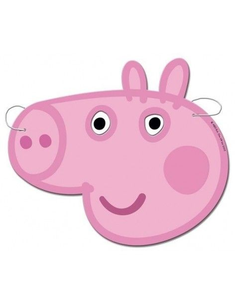 Caretas Peppa Pig