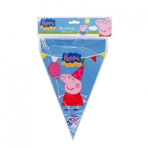 Banderin Peppa Pig