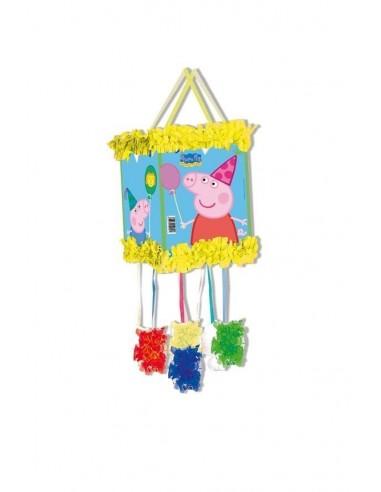 Piñata Peppa Pig Pequeña de 20x30cm