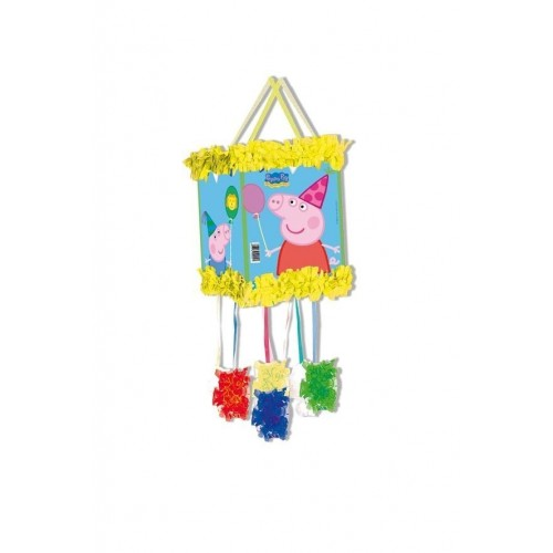 Piñata Peppa Pig Pequeña de 20x30cm - 1 UD