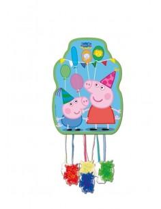 Piñata Peppa Pig Mediana de 33x46cm