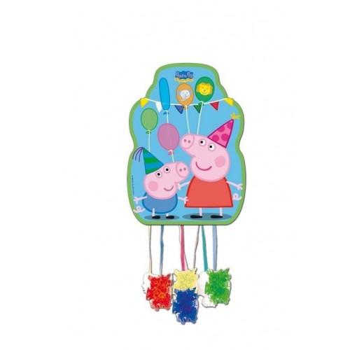 Piñata Peppa Pig Mediana de 33x46cm - 1 UD