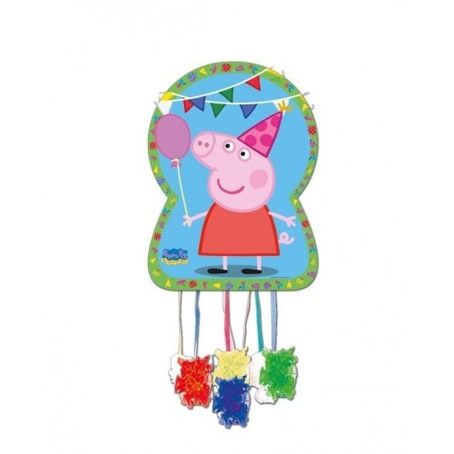 Piñata Peppa Pig Grande de 46x65cm - 1 UD