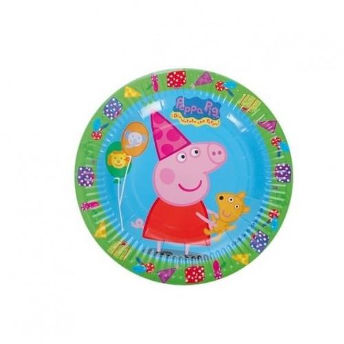 Platos Peppa Pig de 18cm