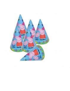 Sombreros de Cono Peppa Pig