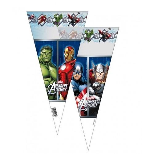 Bolsa Cono Vengadores - Avengers de 20x40cm