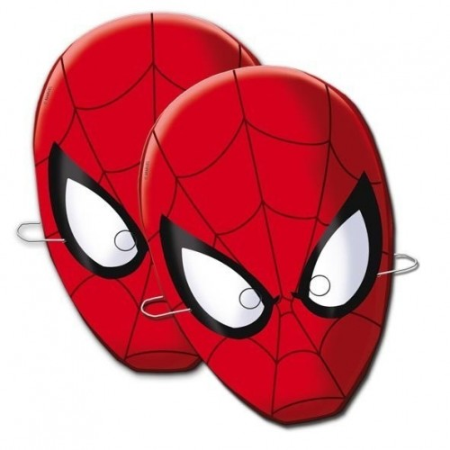 Caretas Spiderman - 6 UDS