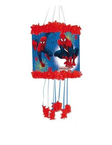 Piñata Spiderman Pequeña de 20x30cm