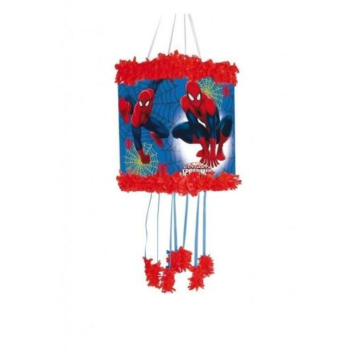 Piñata Spiderman Pequeña de 20x30cm - 1 UD