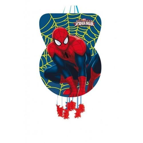 Piñata Spiderman Grande de 46x65cm - 1 UD