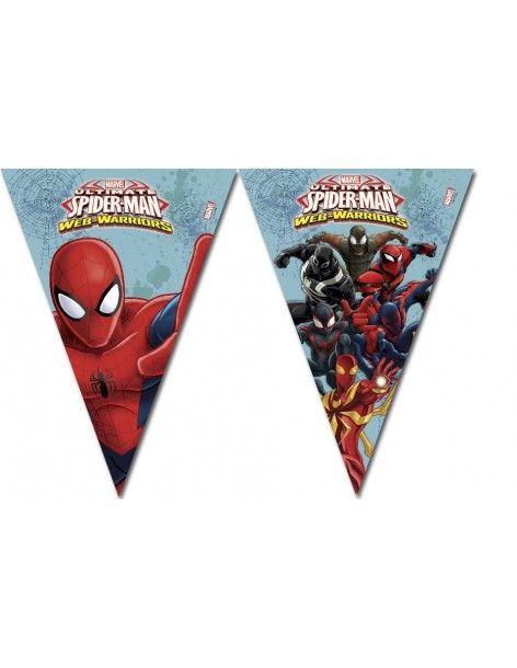 Banderin Spiderman