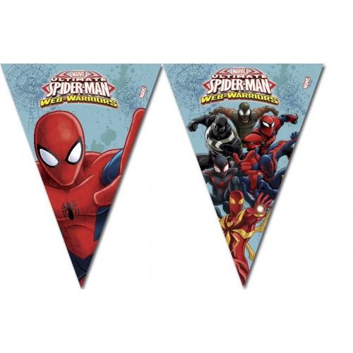 Banderin Spiderman - 1 UD