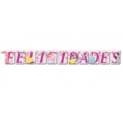 Guirnalda Princesas Disney Felicidades de 120cm - 1 UD
