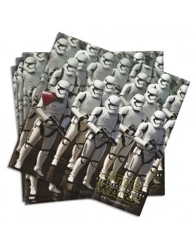 Servilletas Star Wars The Force Awakens de 33x33cm