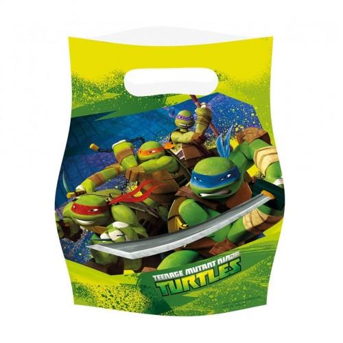 Bolsa de Fiesta Tortugas Ninja - 6 UDS