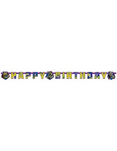Guirnalda Tortugas Ninja Happy Birthday de 180x15cm