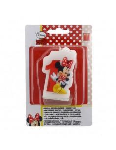 Velas Minnie Mouse Cafe Numero 1