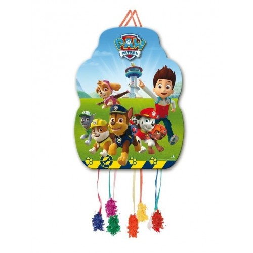 Piñata Patrulla Canina Mediana de 33x46cm - 1 UD