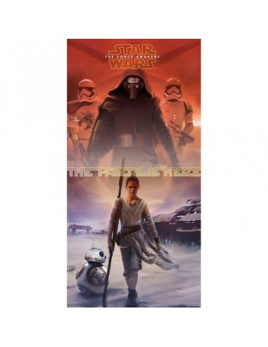 Poster Puerta Star Wars The Force Awakens